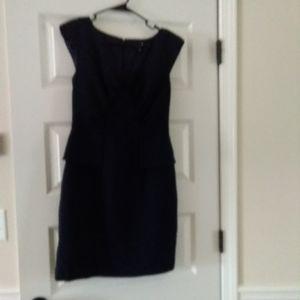 Allen B Dress Navy size 8